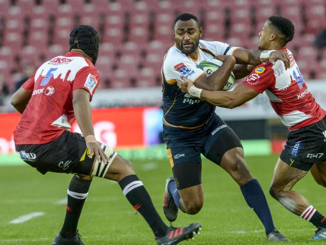 Tevita Kuridrani is key to the Brumbies' quick, attacking style of rugby. Picture: Getty Images