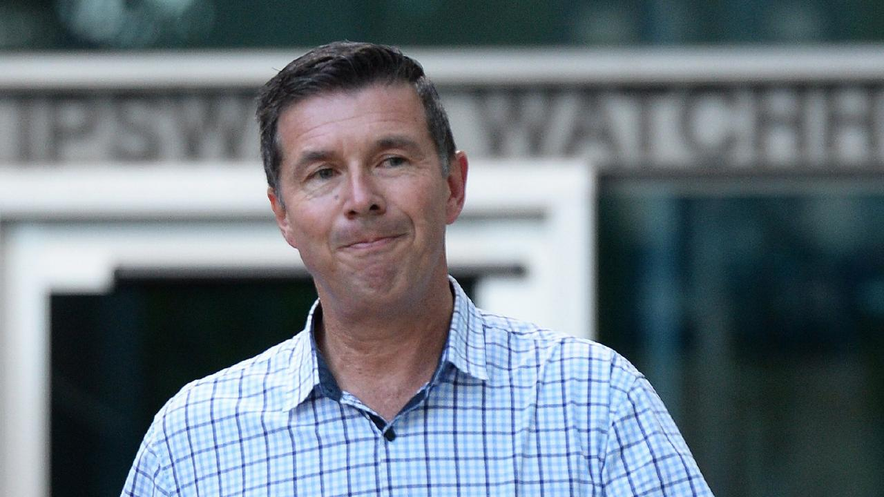 Suspended Ipswich Mayor Andrew Antoniolli.