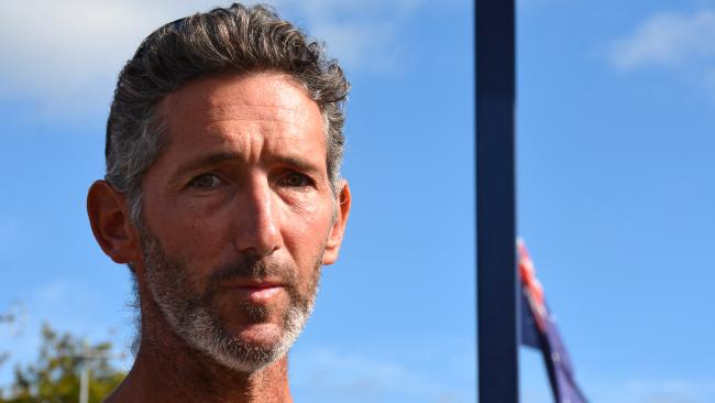 Aaron Cockman, the father of four children killed by their grandfather near Margaret River in WA. Picture: AAP/ Rebecca Le May.