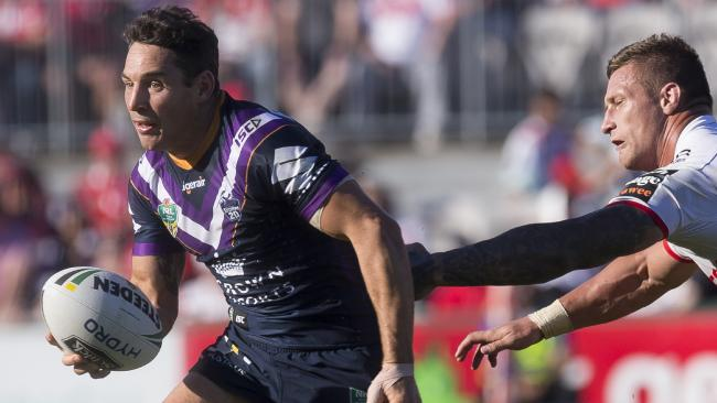 Billy Slater is one of the great fullbacks of all time, but he didn't revolutionise the position. Picture: AAP Image/Craig Golding