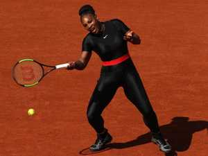 Trendsetter: Catsuit the latest of Serena's iconic looks