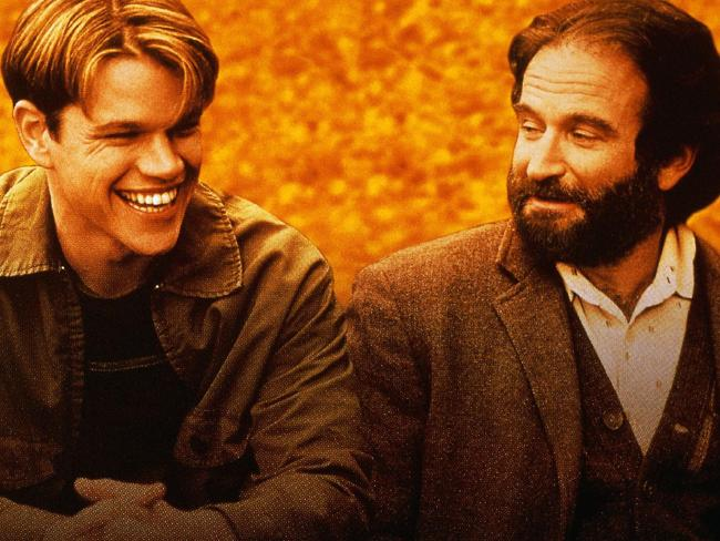 Robin Williams wasn't the first person thought of to play the role of Will Hunting's therapist, but in the end it was inspired casting, as the role elevated the film, and landed Williams with the 'Best Supporting Actor' Oscar that year.