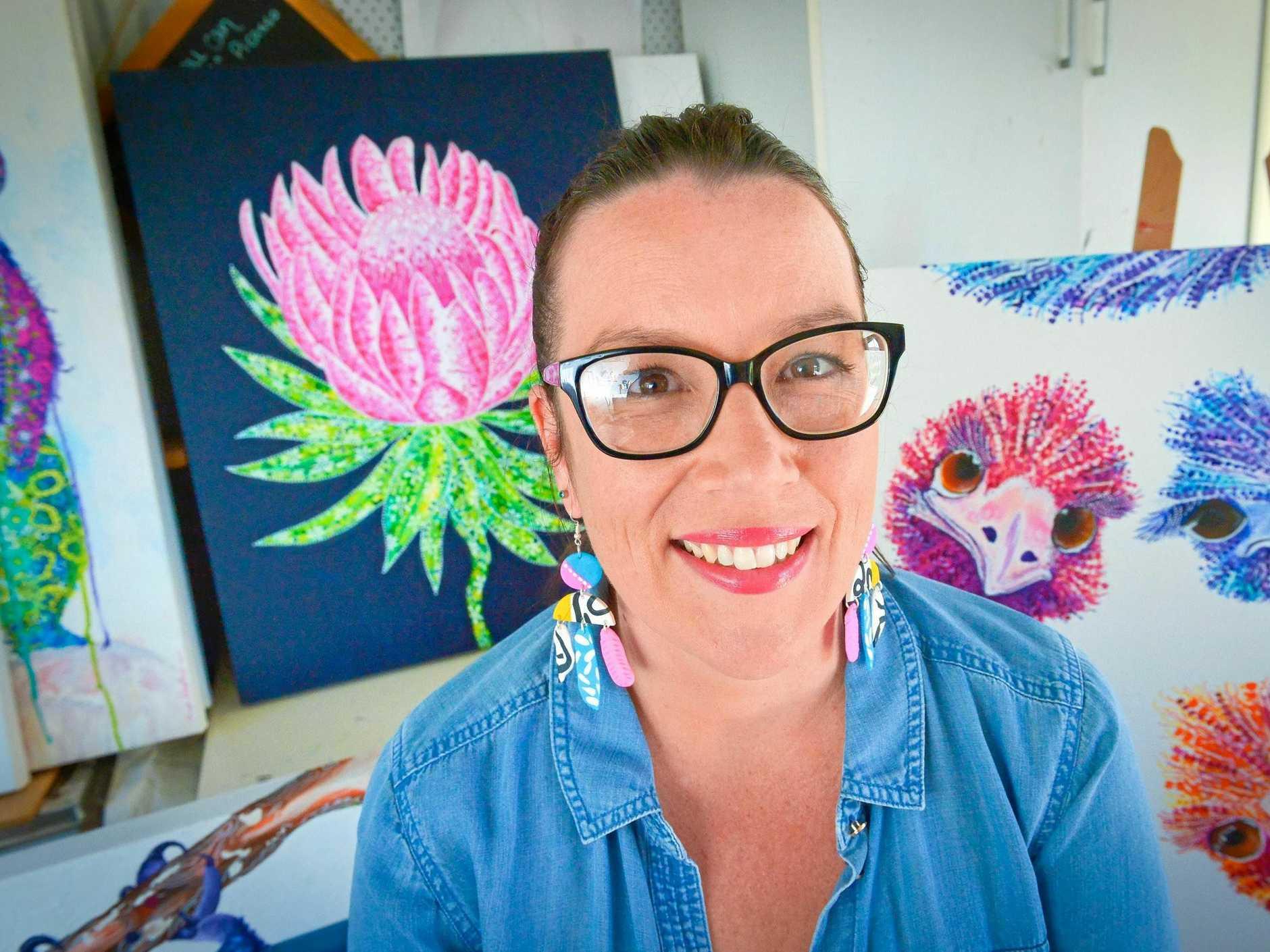 Tanya Kalantary - Artist.