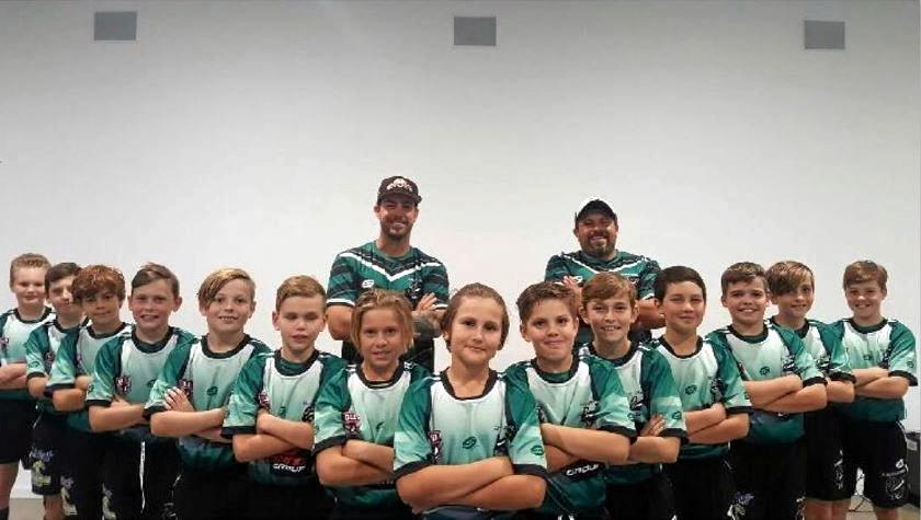 The Maroochydore Swans junior rugby league under-11s team have been invited to compete in the Laurie Spina Shield in Townsville this July.