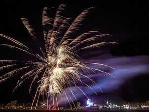 Fireworks to light the sky over Mackay