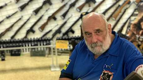Ron Owen - Gympie gun shop owner, chairman of the Cooloola Gun Range committee, and Firearm Owners Association federal president.