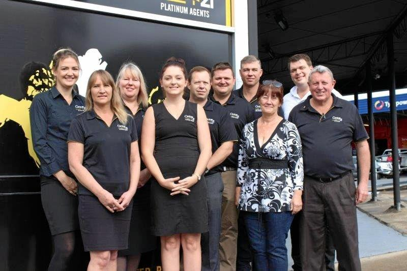 ISLAND CONVENTION: Ten team members from Century 21 Platinum Agents in Gympie and Tin Can Bay will be attending next week's annual Australia-wide convention at Hamilton Island. They are (from left) Rachael Harratt, Deanne Kelly, Sue Clink, Kirsty Munro, Ivor Kempson, Billy Mitchell, Darryl Graham, Rosemary Denton, Dan Van Der Hoek and Paul Downman.