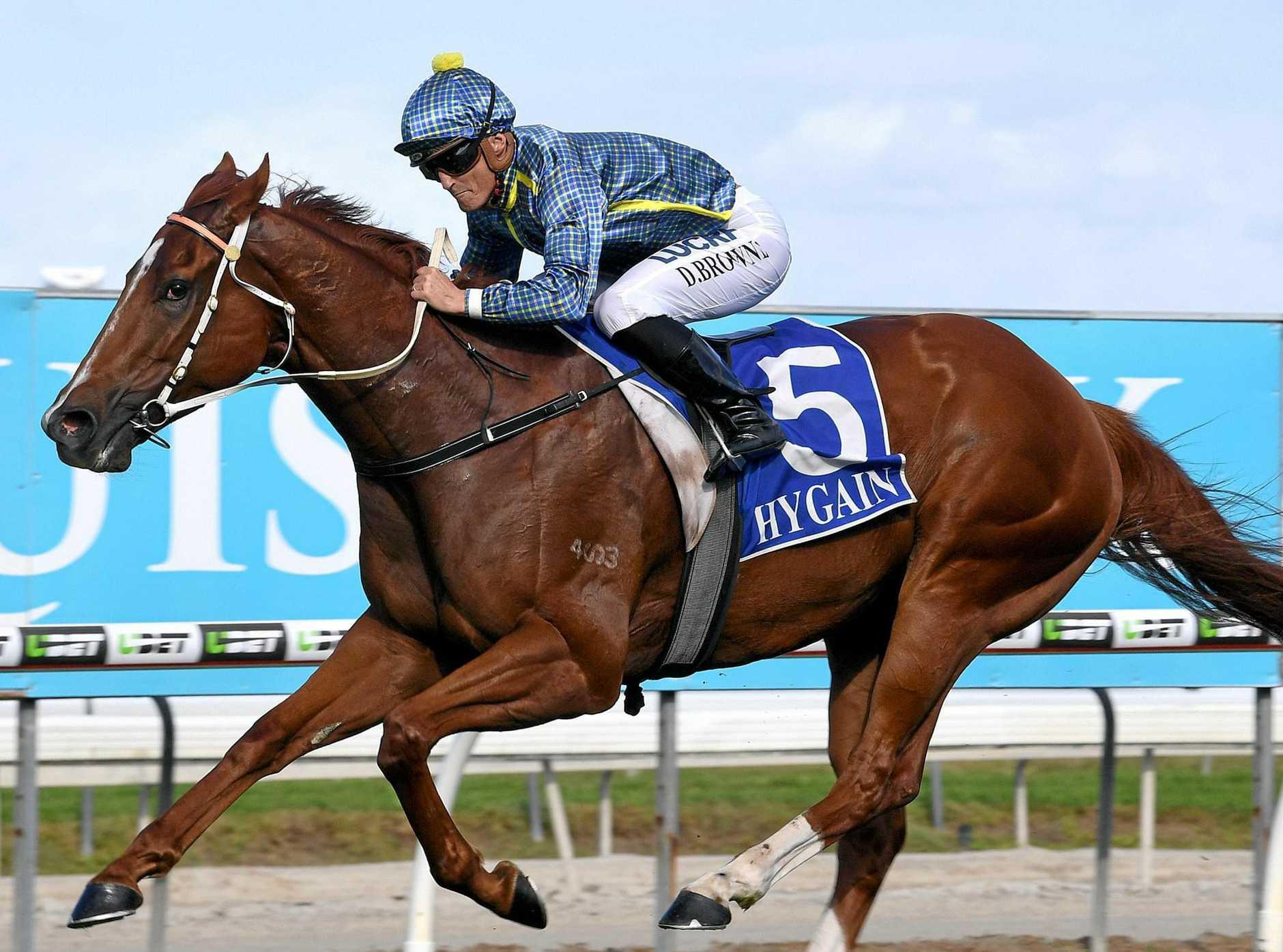 KEEN: Jockey Damian Browne