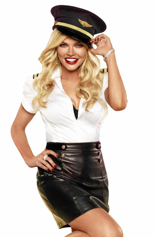 Sophie Monk hosts Love Island Australia but has only appeared in one episode so far. Picture: Supplied