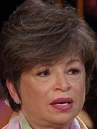 Valerie Jarrett. Picture: MSNBC