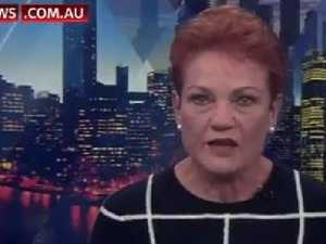 Hanson breaks down on live TV