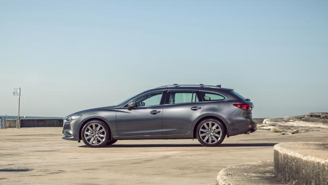 The new model is available in sedan and wagon. Picture: Thomas Wielecki.