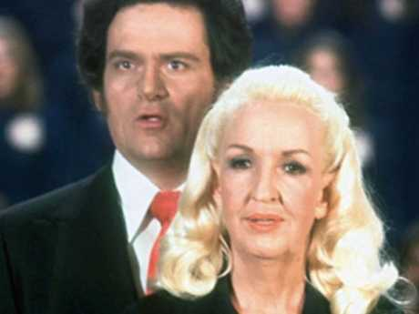 Cult leader Tony Alamo and his wife Susan in the early 1980s. Picture: AP /Tony Alamo Christian Ministries