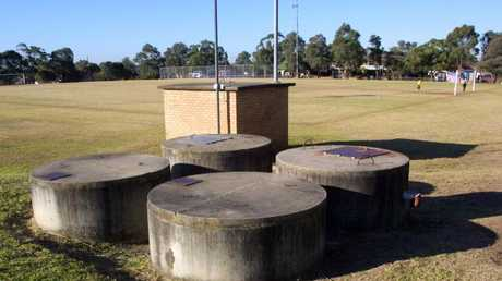Gosling Park in Greenacre, Sydney, where Skaf took part in a gang rape. Picture: News Corp Australia