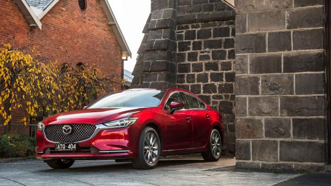 The new Mazda6 is a cleaner, simpler design.