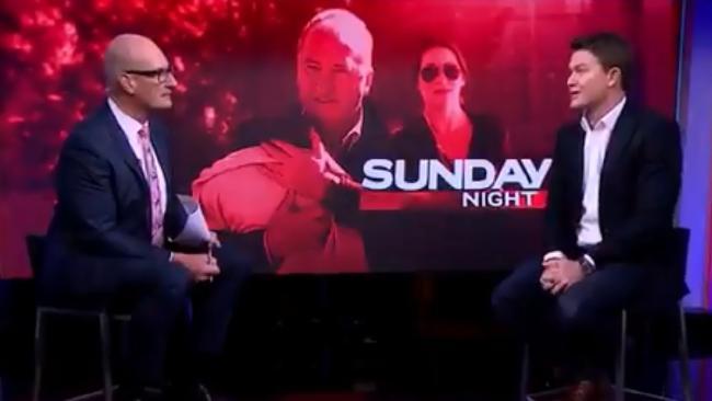 Journalist Alex Cullen talks to Kochie on Channel 7's Sunrise.