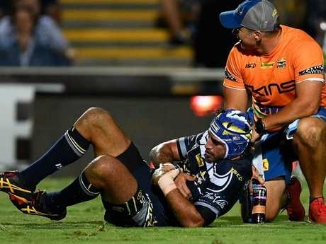 Johnathan Thurston was not in a good way.