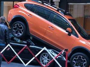 Valet finds unusual spot to park expensive Porsche