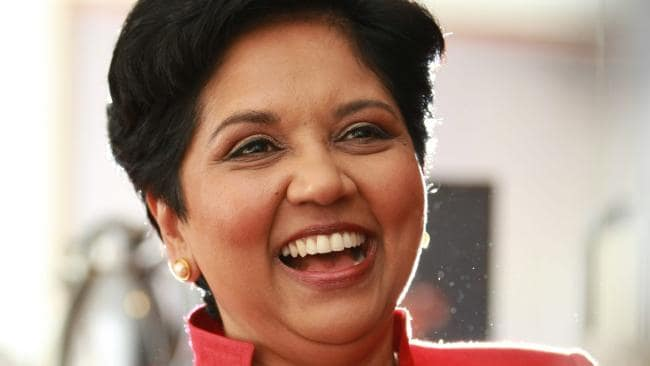 PepsiCo global chairman and CEO Indra Nooyi.