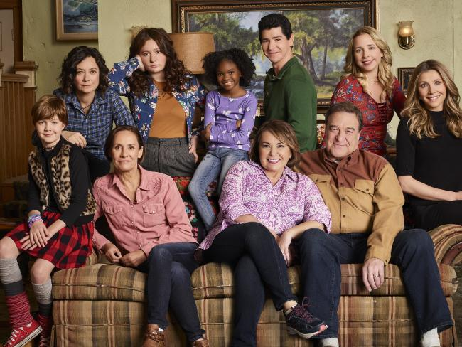 The cast of the Roseanne reboot. Picture: ABC