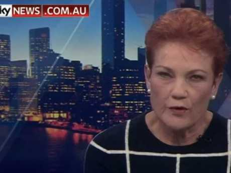 An emotional Pauline Hanson said she would not be defeated.