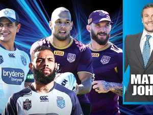 Johns: Six battles that will decide Origin Game I