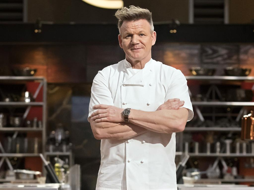 The world's most Michelin-starred chef once threw a plate of food at Gordon Ramsay. Picture: Channel 10