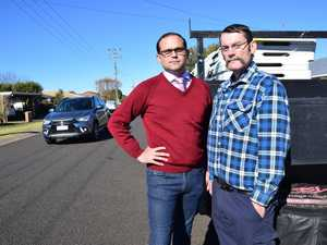 Residents shine a light on Harristown hoons