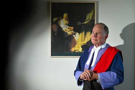 Judge John Robertson is against mandatory sentencing. He believes it leads to personal injustice.