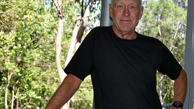 NEW IDEAS: Noosa architect John Mainwaring has fresh ideas for Noosa Junction remake.