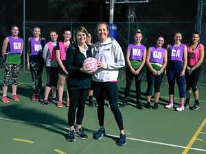 Netball courts approved at state school