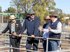 Agriculture at forefront of minister's CQ visit