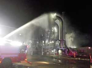 Firefighters put out blaze at Dalby Bio-Refinery