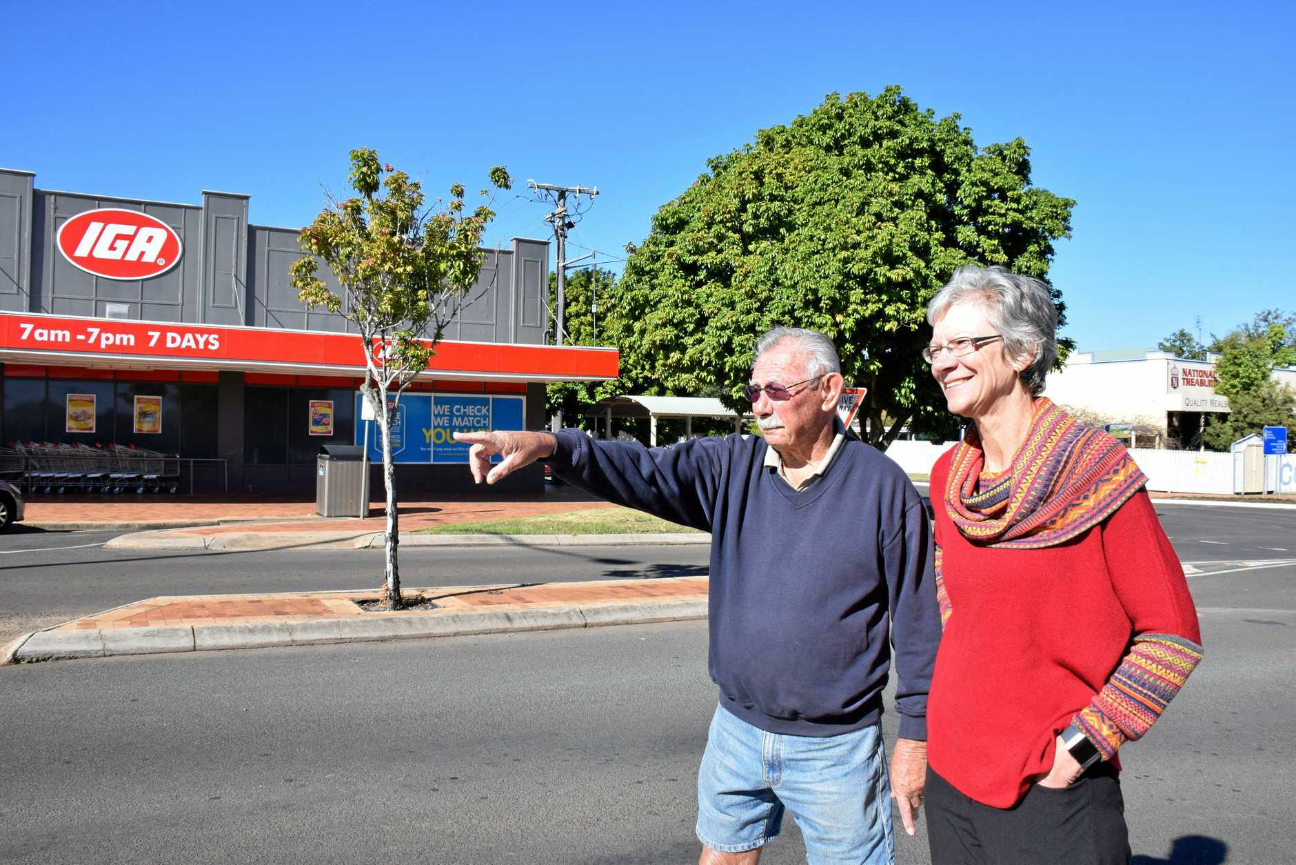 Brian Hudson and Councilor Ros Heit are on the lookout for more Neighbourhood Watch co-ordinators.