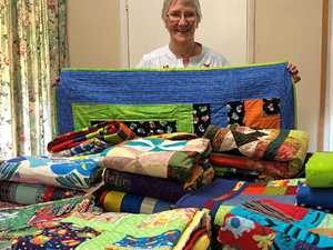 CQ's helping hands have Rescue Quilts all stitched up