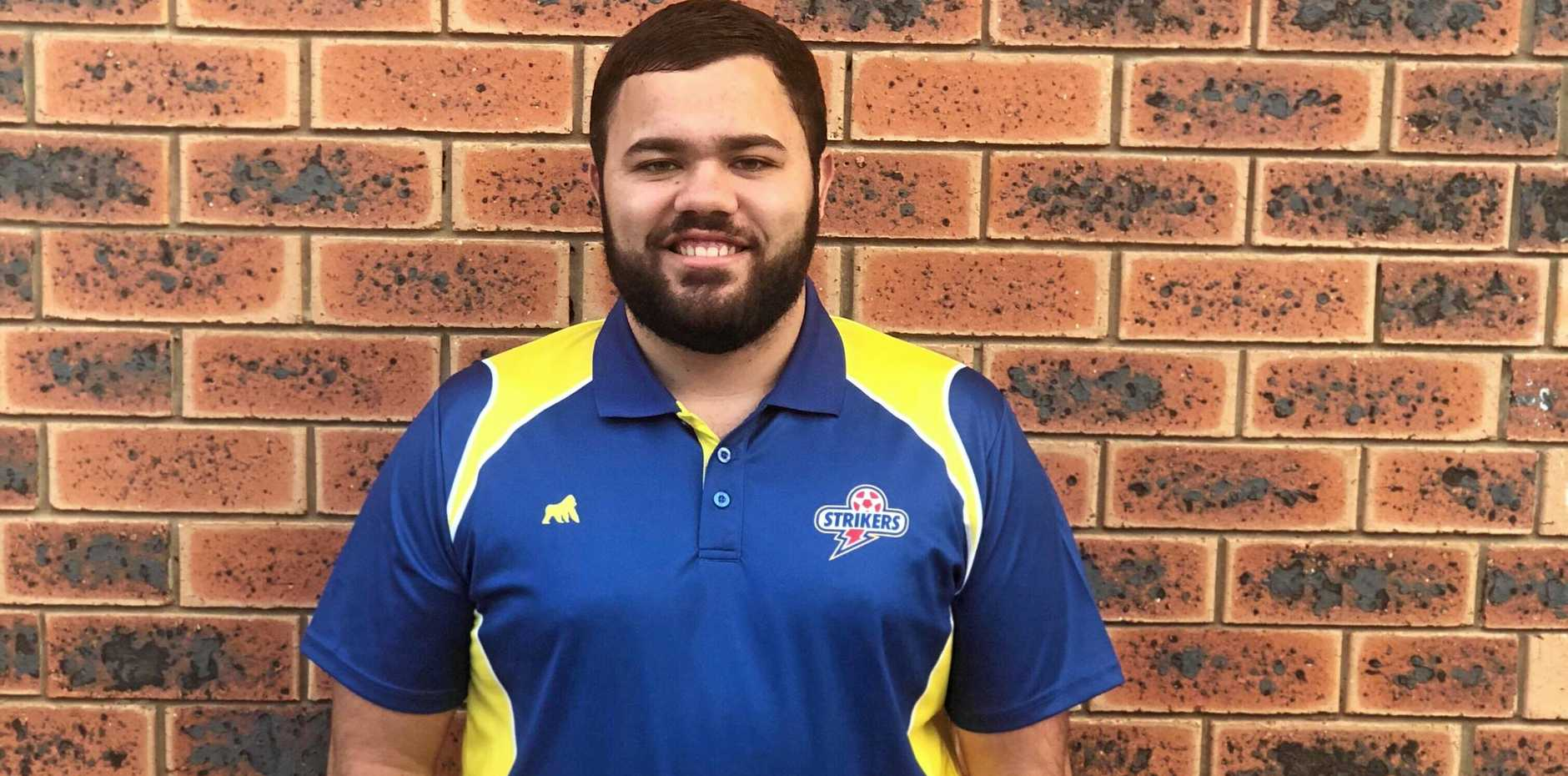 NEW HOME: Former Sunbury Football Club player and Youth coach Justin Linwood has joined NPL club Brisbane Strikers, where he serves as assistant coach for the under-15s and (inset) their first win.