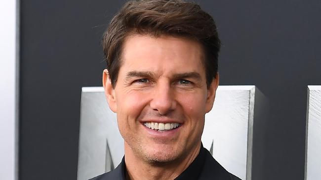 Tom Cruise has released the first picture from the set of Top Gun 2. Credit: AFP PHOTO/Angela Weiss