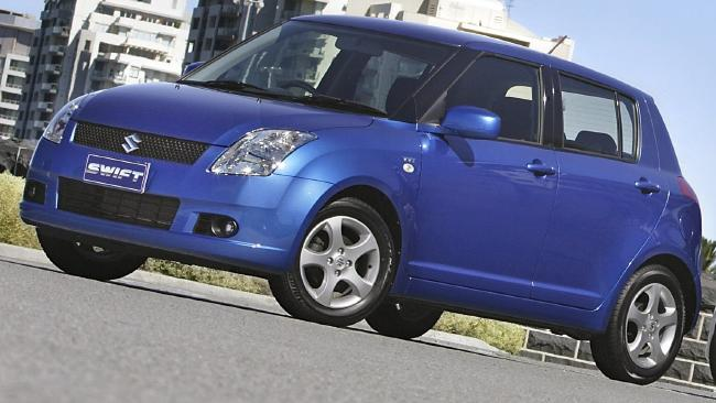 First car: Suzuki Swift
