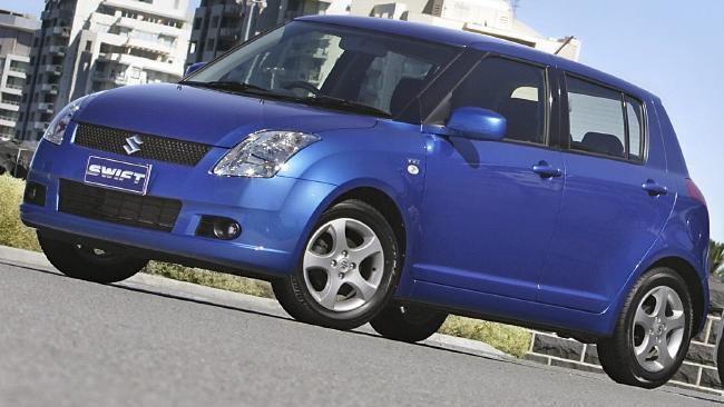 First car: Suzuki Swift