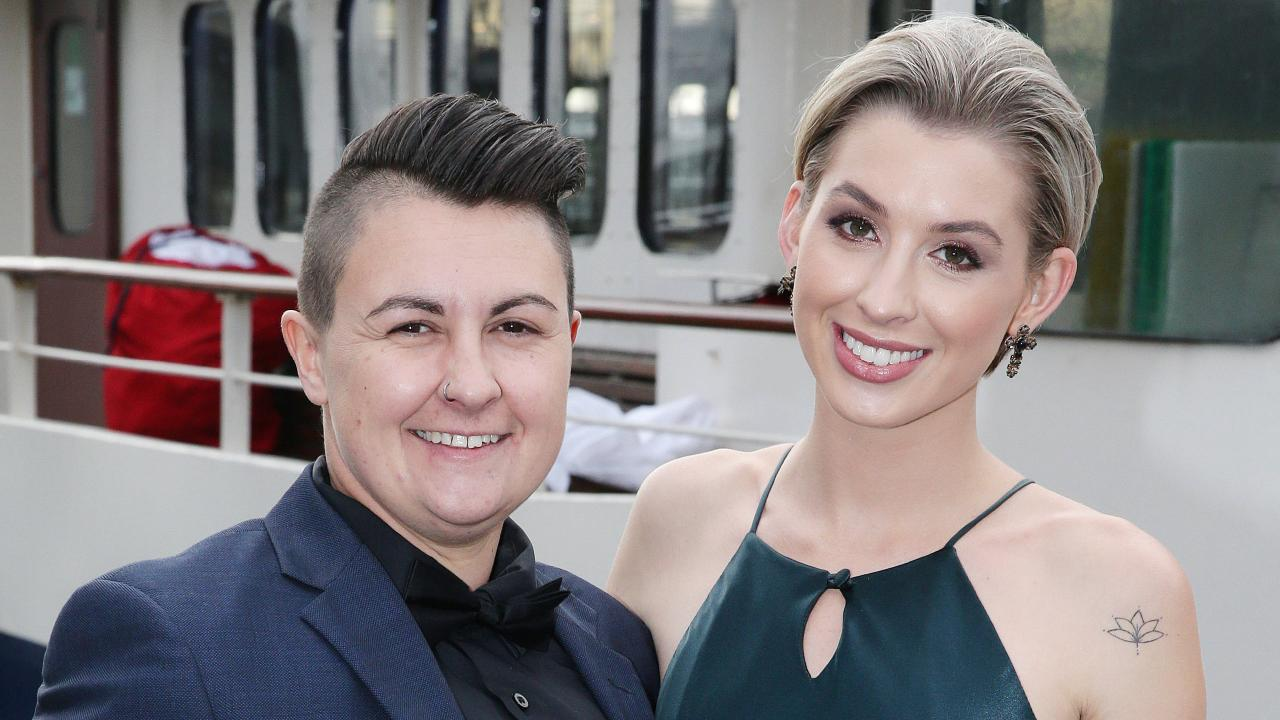 Alex is rumoured to have split from fiance Maegan Luxa earlier this year. Picture: Andrew Tauber