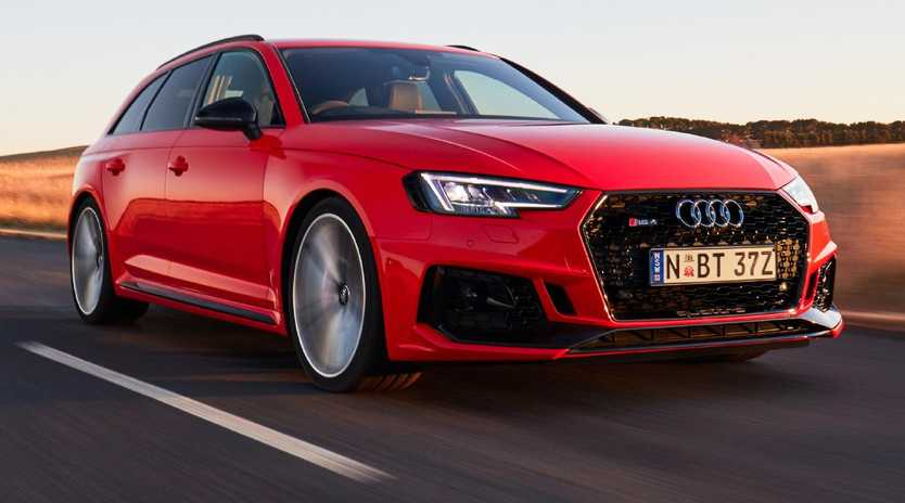 The new Audi RS4 has twin-turbo V6 power that trumps previous V8 models. Picture: Supplied.