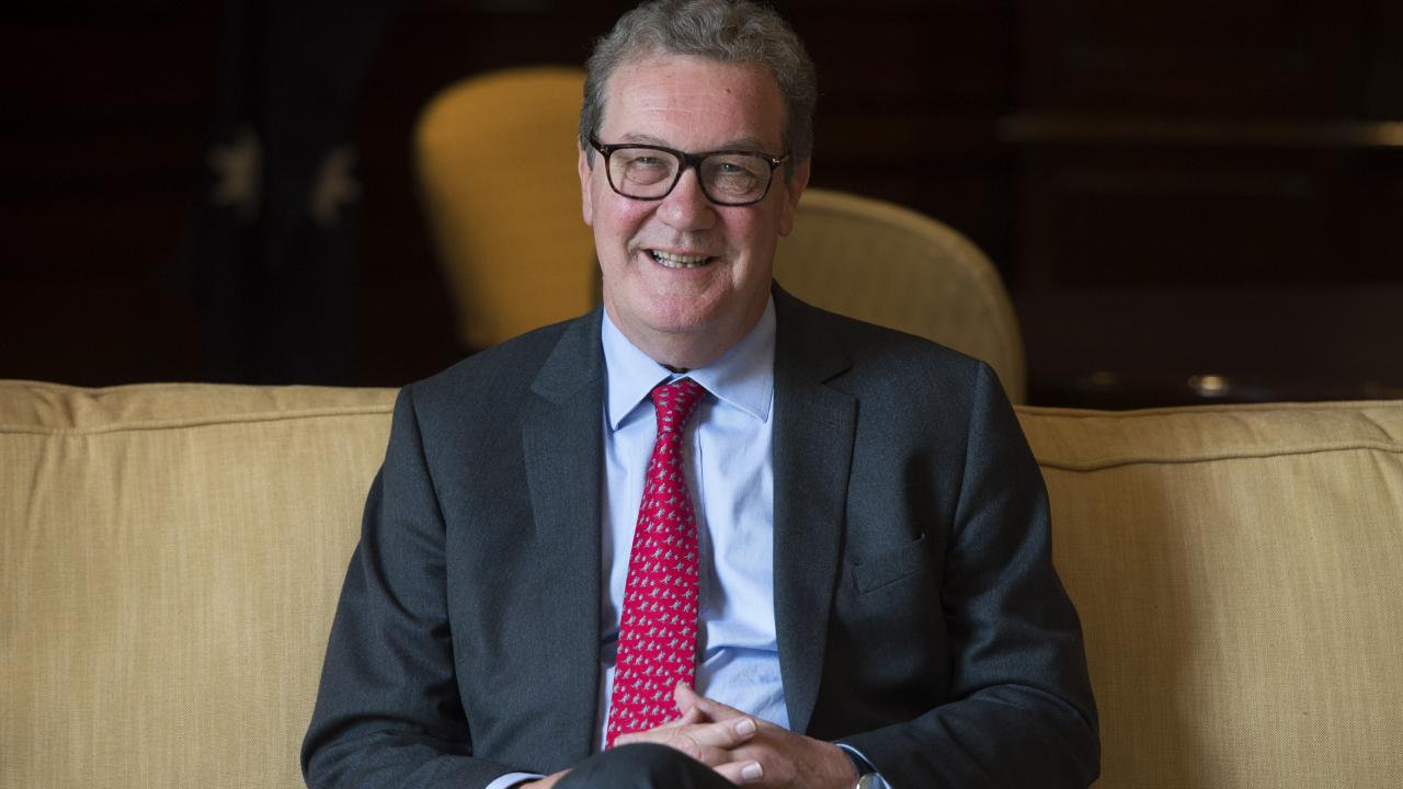 Alexander Downer took information he received from a Donald Trump aide about potential Russia meddling in the 2016 US election to the American embassy in London, a report alleges. Picture: Ben Stevens/i-Images