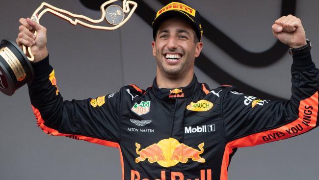 Ricciardo is in a three-way title fight.