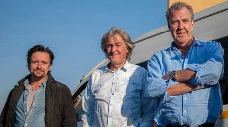 Richard Hammond, James May and Jeremy Clarkson used to host Top Gear.