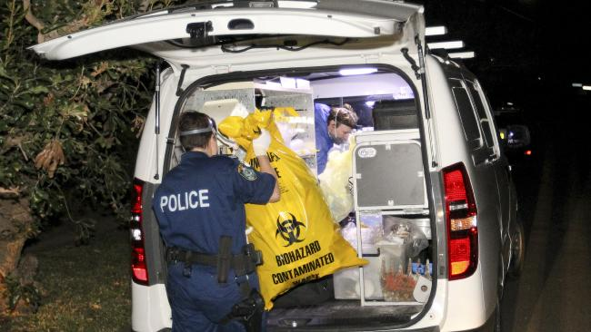 The decomposed body is believed to have been in the home for up to a year. Picture: AAP Image/Danny Casey