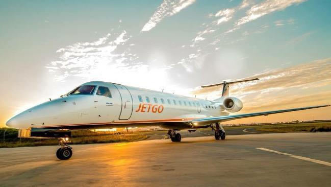 JetGo had flown services from Townsville to the Gold Coast via Rockhampton.