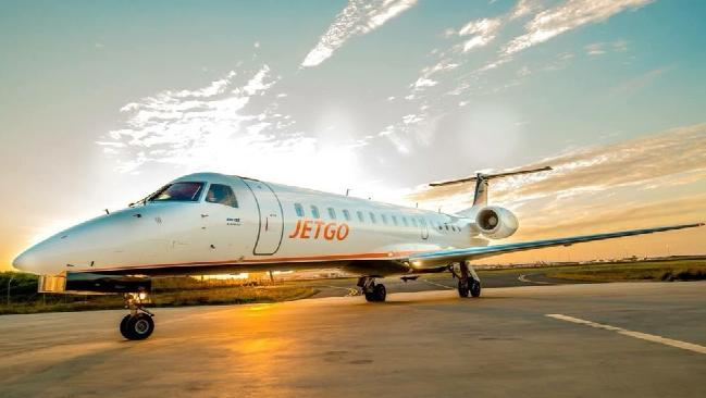 JetGo had flown services from Townsville to the Gold Coast via Rockhampton.