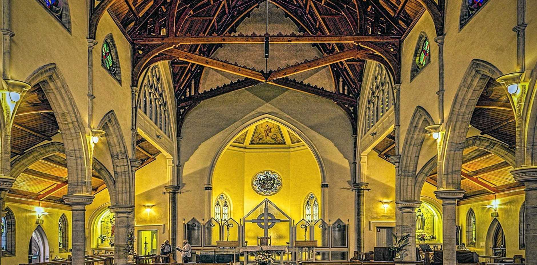 Weekend Gary Guest photographer. St Patrick's Catholic Church, Gympie.