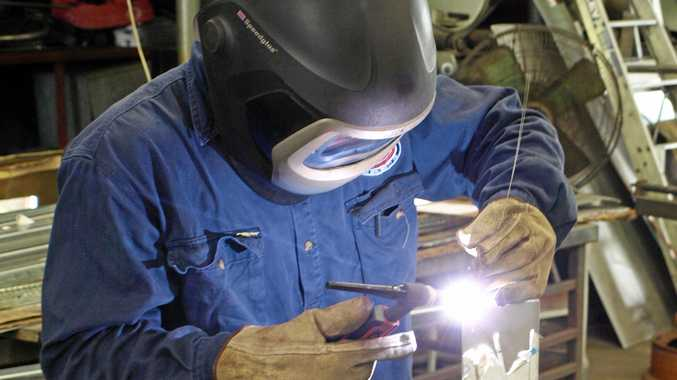 Michael Wallin is a welding expert when it comes to fiddly jobs.