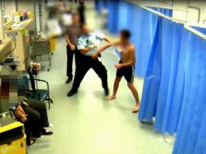 Toowoomba Hospital staff kicked, punched, bitten and spat at